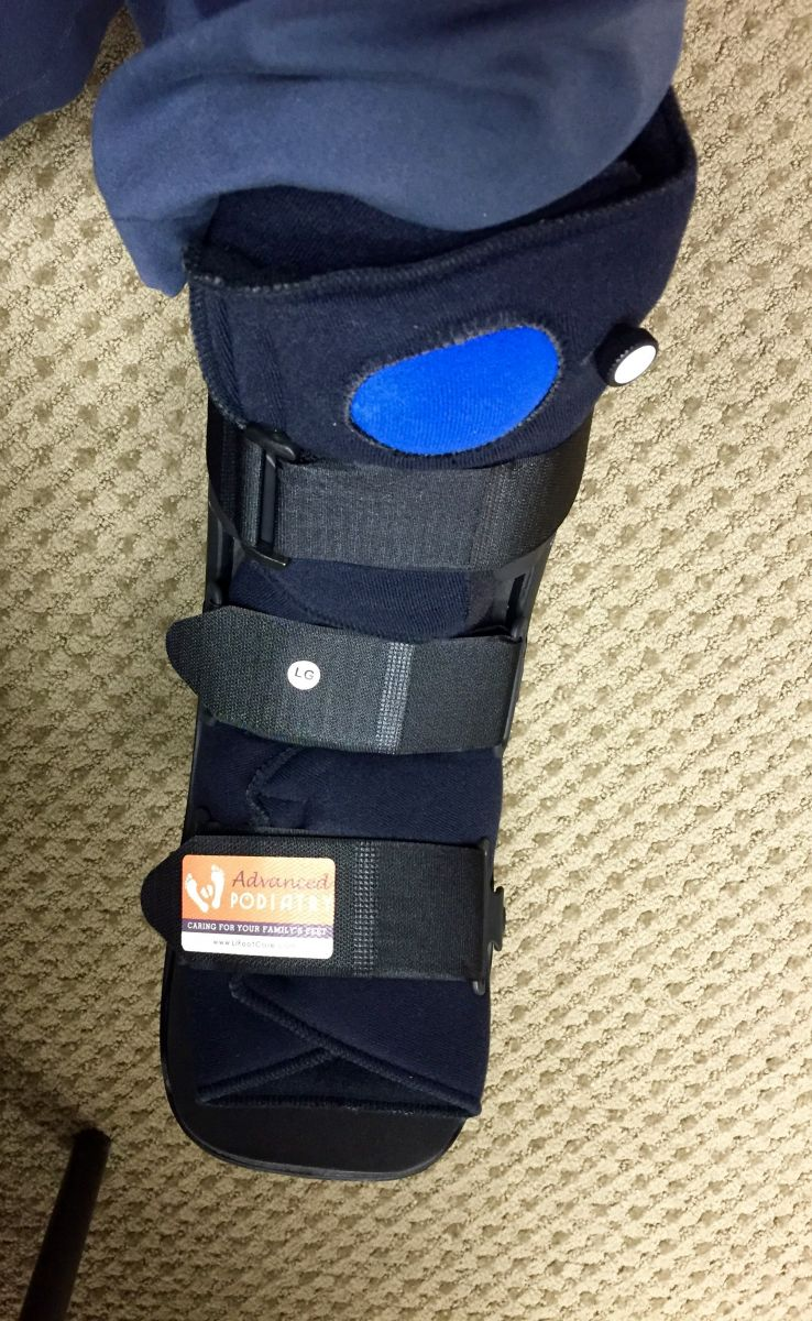 Ankle Sprain Brace Advanced Podiatry Huntington